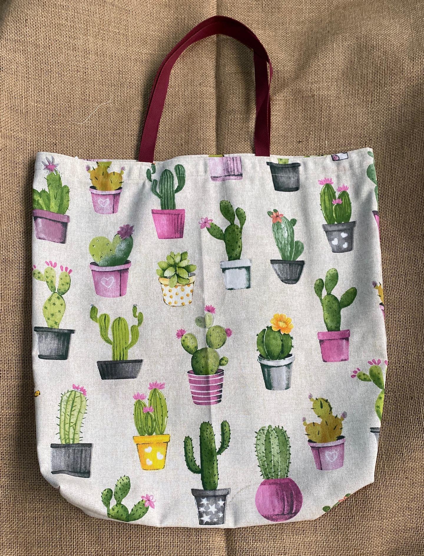 Bolso cactus vintage